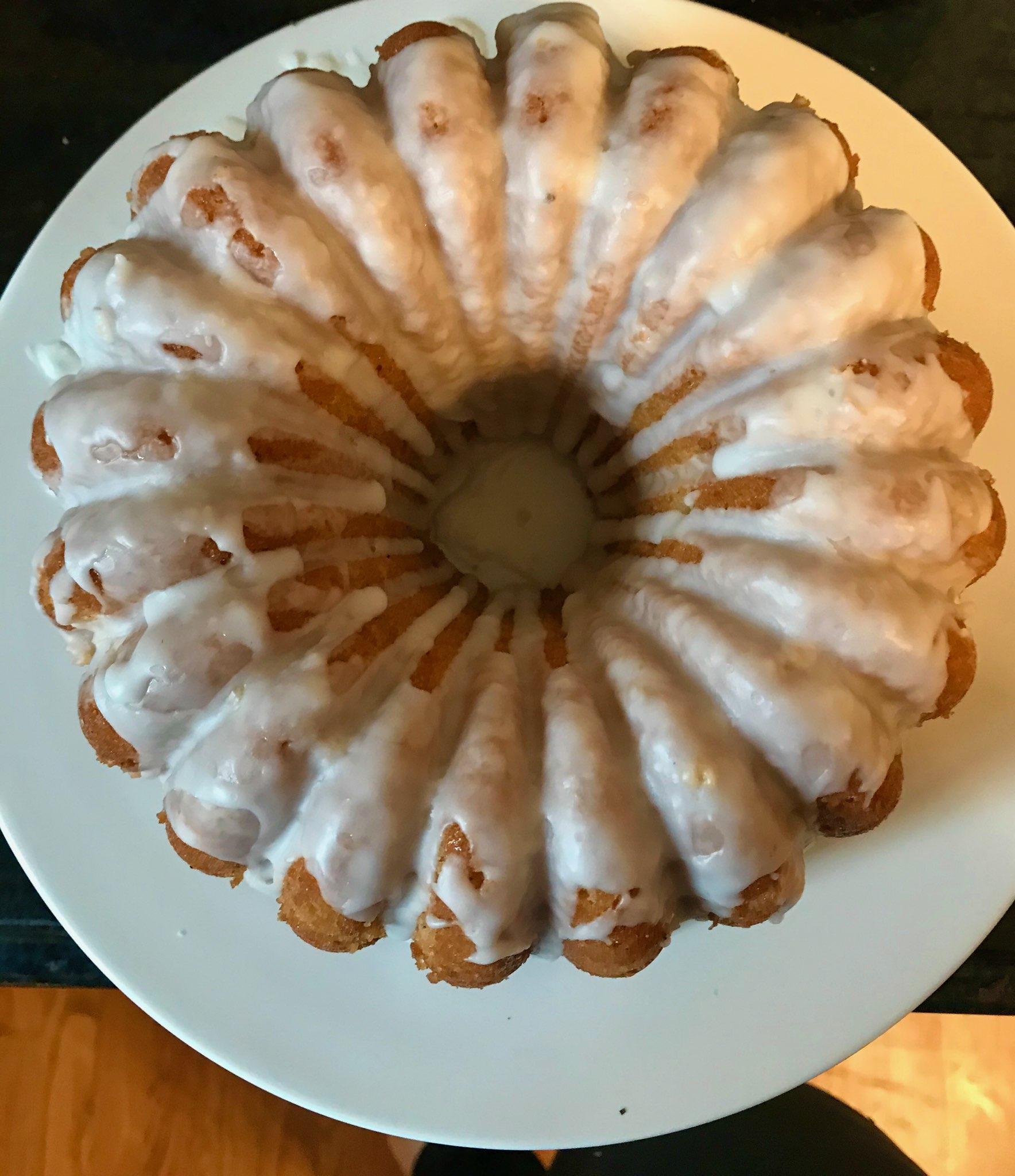 Lemon Cardamon Coconut Cake Cake